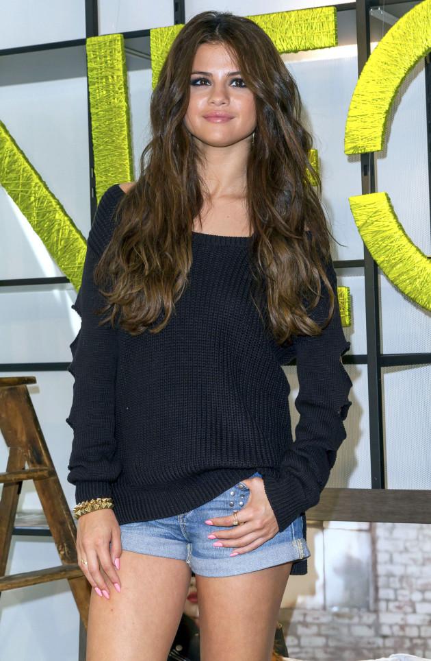 Selena Gomez in Jean Shorts