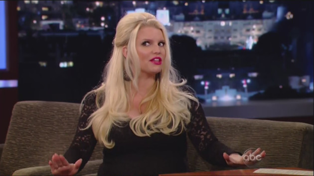 Jessica Simpson on Jimmy Kimmel