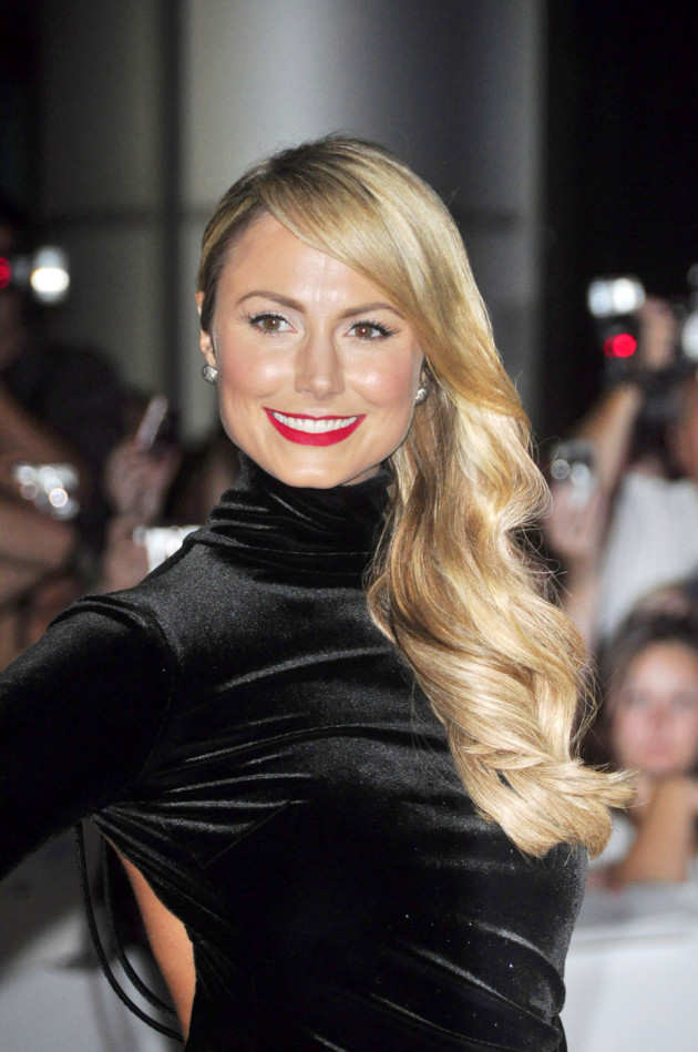 Stacy Keibler in Black