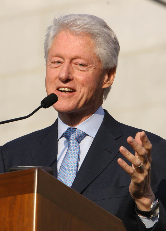 Bill Clinton on the Mic