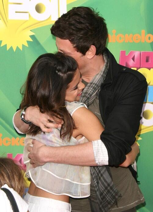 Selena Gomez and Cory Monteith