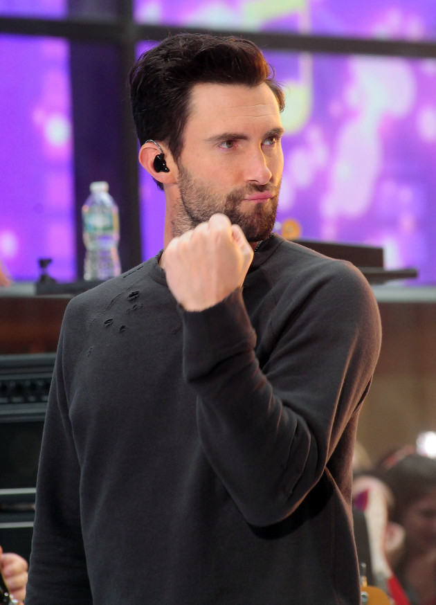 Adam Levine is Pumped