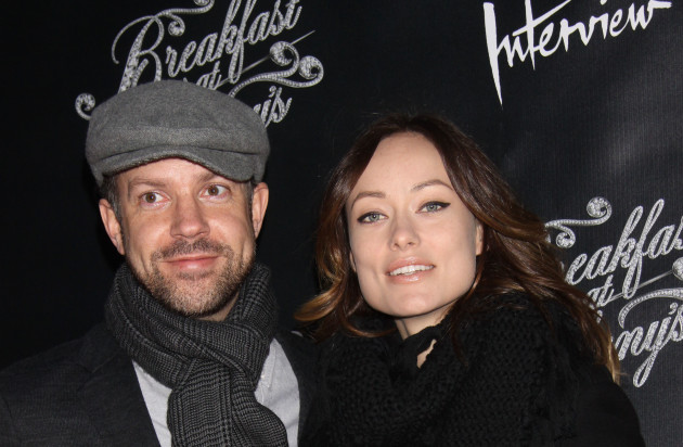 Jason Sudeikis with Olivia Wilde