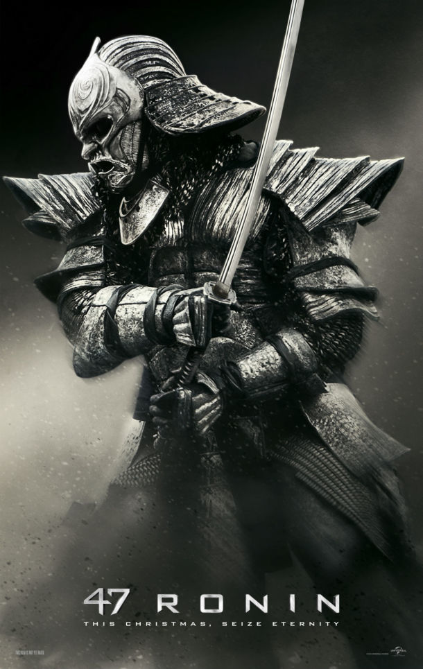 47 Ronin Character Poster Warrior