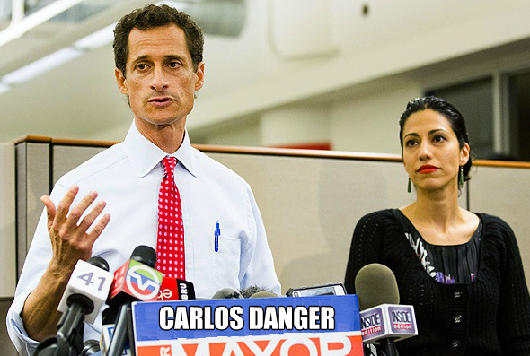 Carlos Danger, Wife