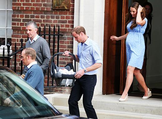 Prince William, Car Seat