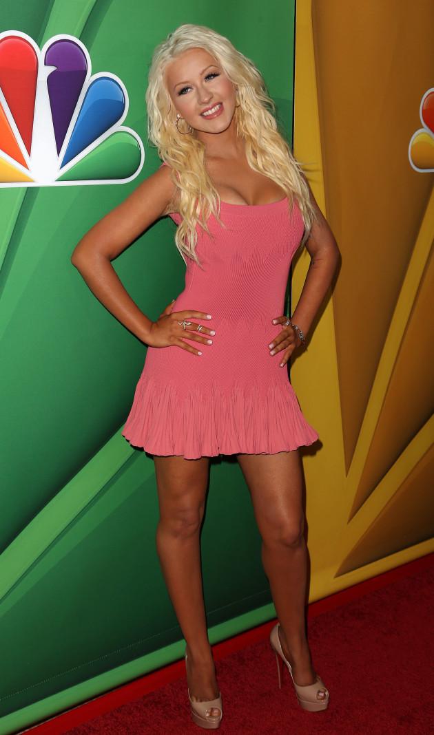 Christina Aguilera Thin Photo