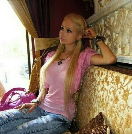 Valeria Lukyanova, a.k.a. Human Barbie