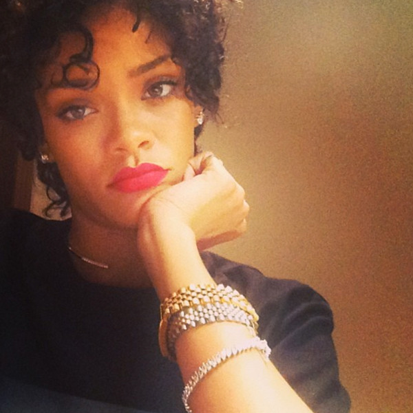 Rihanna, Natural Hair