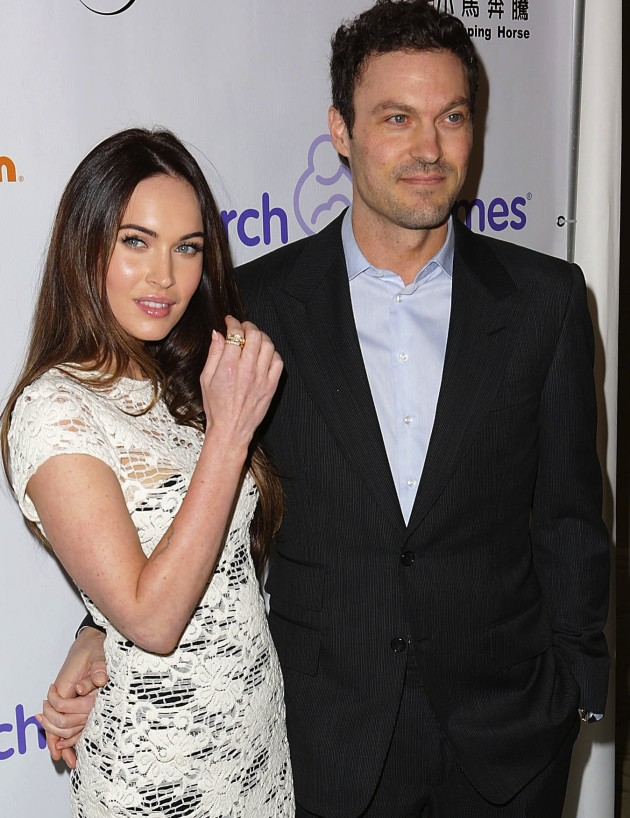 Megan Fox, Brian Austin Green Photo