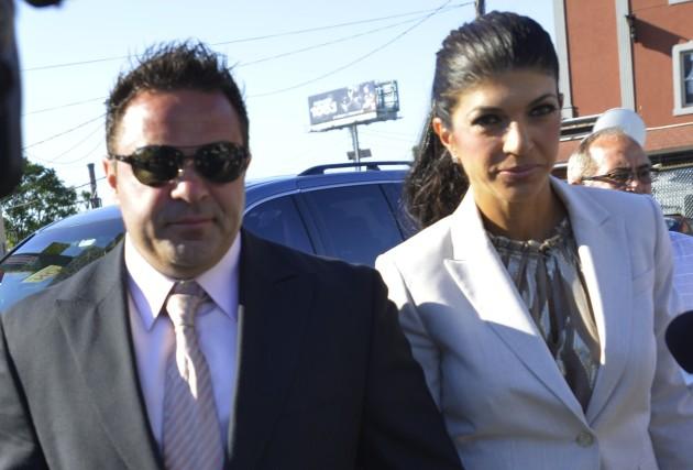 Joe, Teresa Giudice Photo