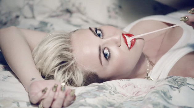 Miley Cyrus Video Pic
