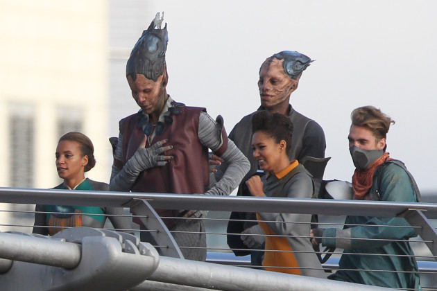 Guardians of the Galaxy Images: First Look at Behind the ...
