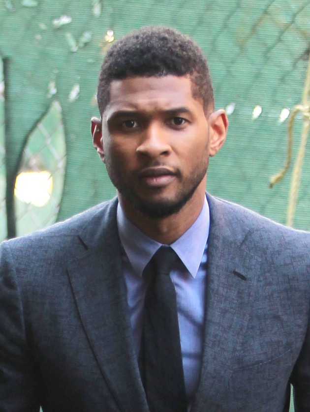 Usher in a Suit