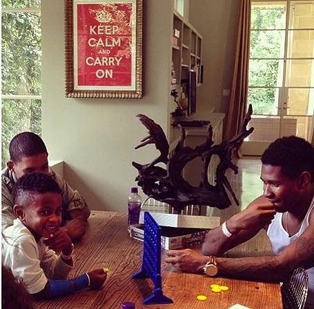 Usher, Kids