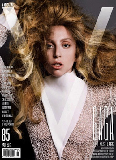 Lady Gaga V Magazine Cover