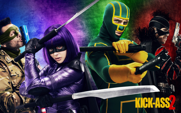 Kick-Ass 2 Official Poster