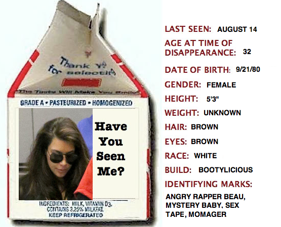 Kim Kardashian Missing