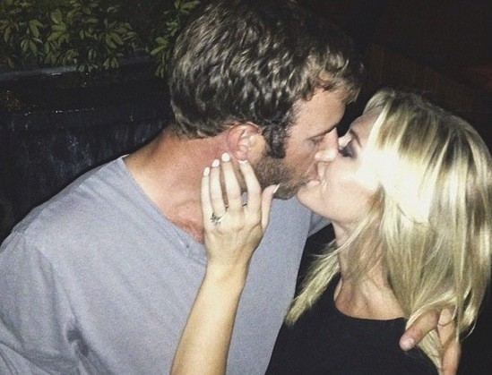 Paulina Gretzky and Dustin Johnson