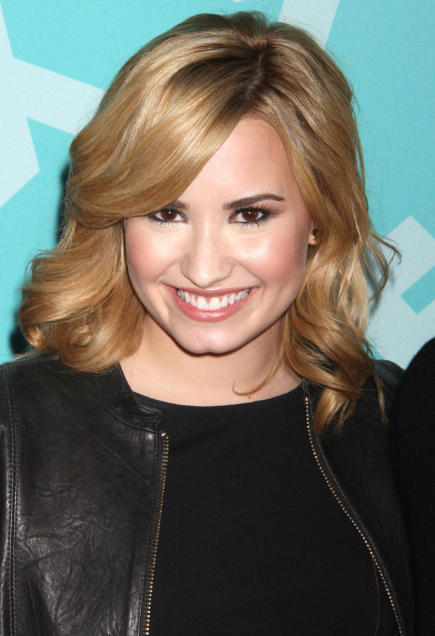 Demi Smiling