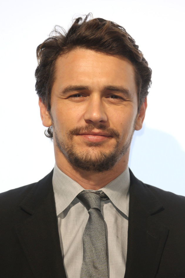 James Franco Close Up