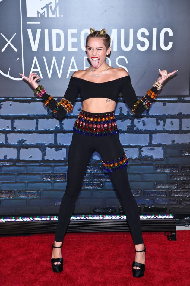 Miley Cyrus VMA Fashion Choice