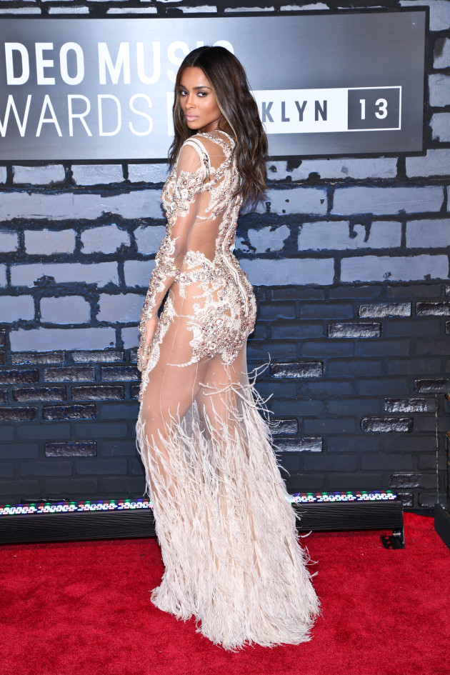 Ciara at the 2103 VMAs