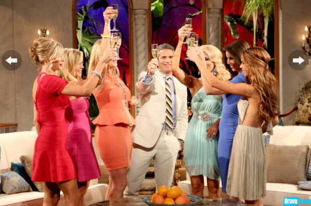The Real Housewives of Orange County Say Cheers