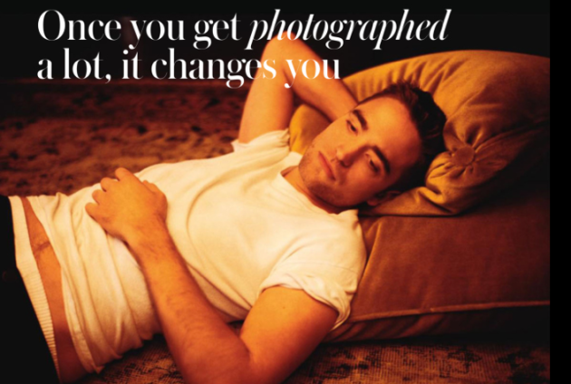 Robert Pattinson for Instyle UK