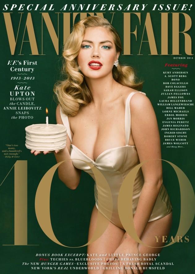 Kate Upton Vanity Fair Cover