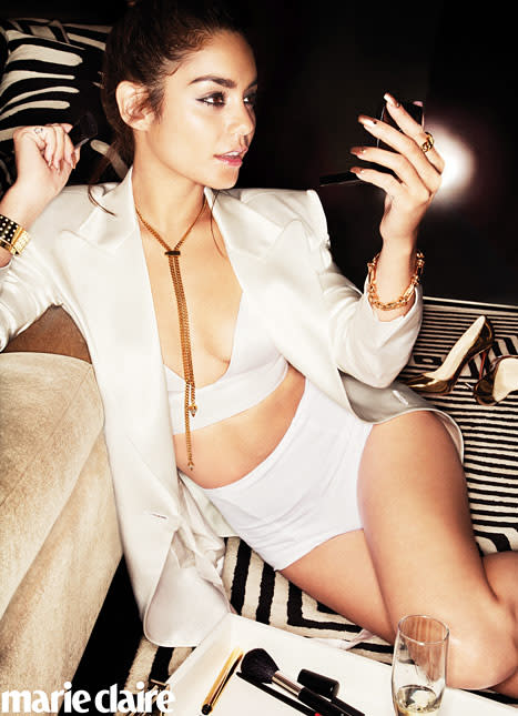 Vanessa Hudgens Marie Claire Picture