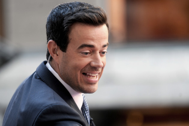Carson Daly on Today Set