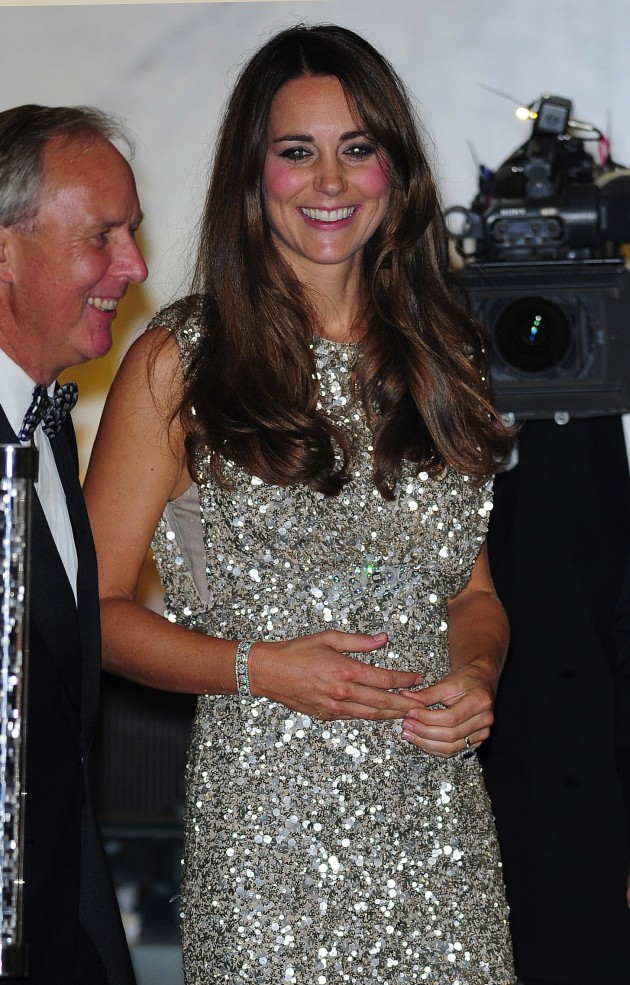 Kate Middleton Smiles on Red Carpet