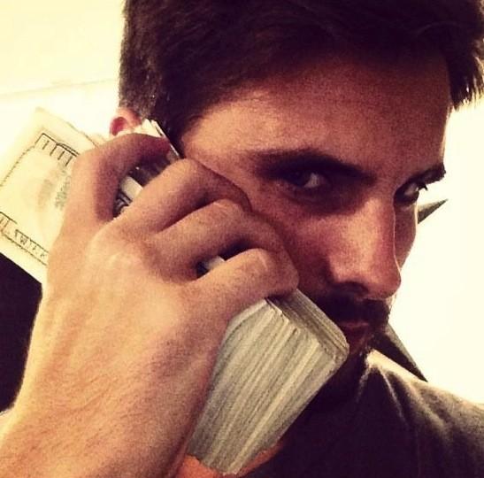 Scott Disick Money Pic