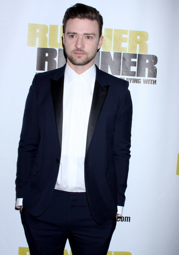 Justin Timberlake in a Tux
