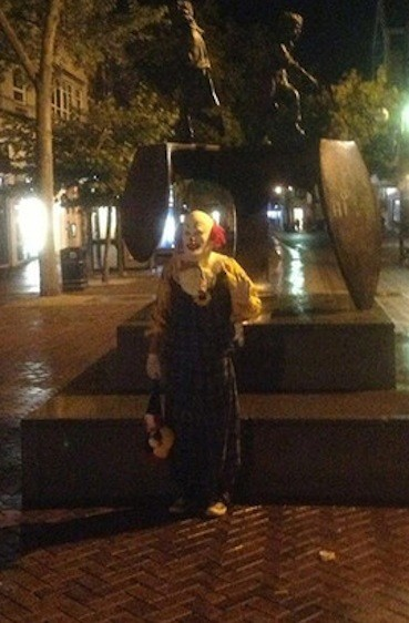 Northampton Clown Picture