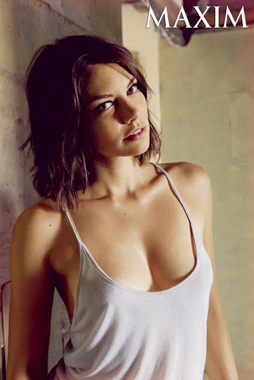 Lauren Cohan Maxim Photo