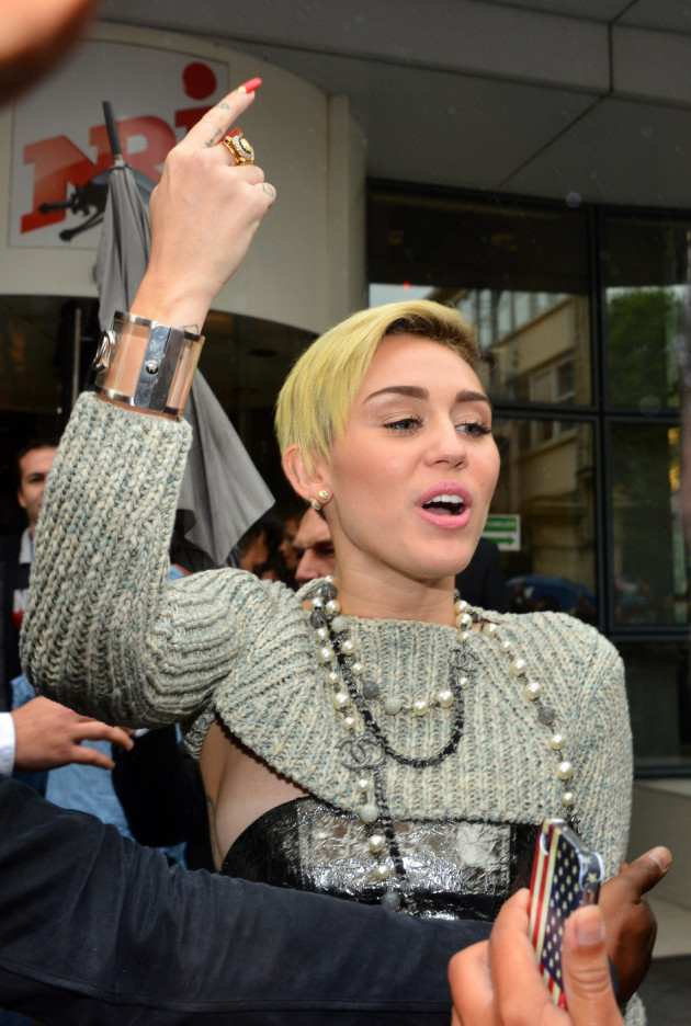 Miley Cyrus Visits London
