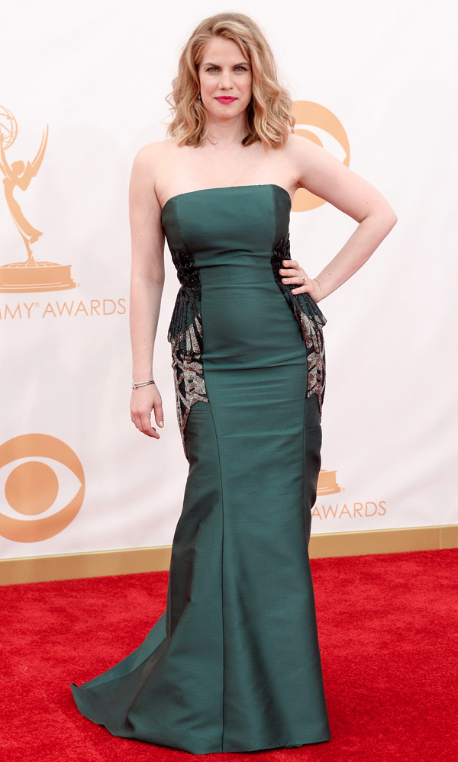 Anna Chlumsky Emmy Dress