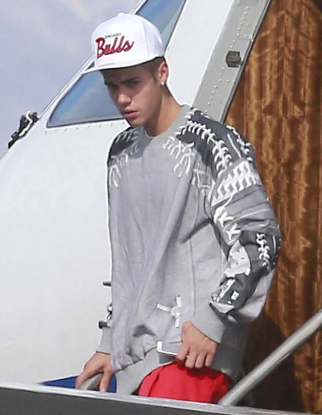 Justin Bieber in Burbank