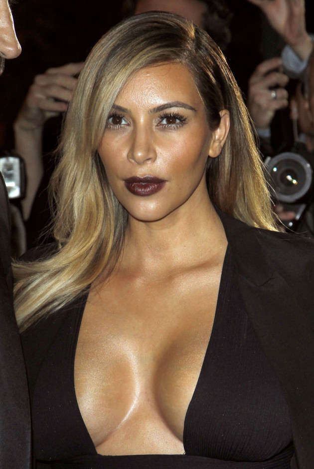 Big Kim Kardashian Breasts
