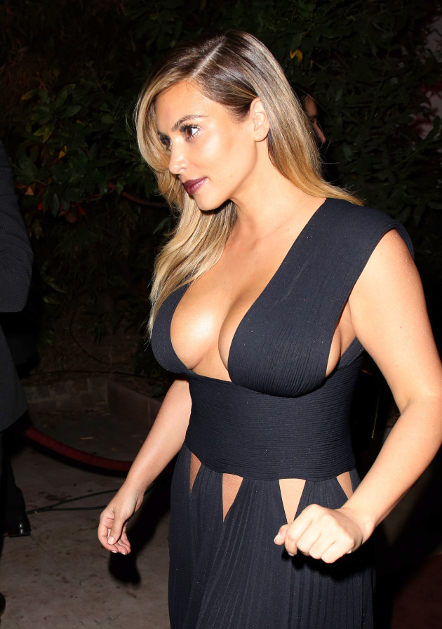 Kim Kardashian Boobs Photo