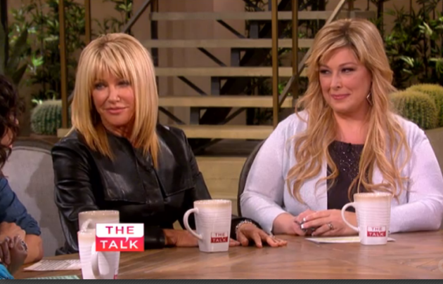 Suzanne Somers on The Talk