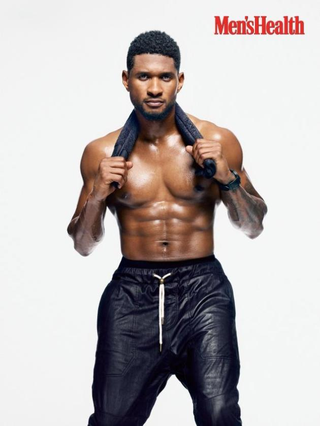 Usher Shirtless