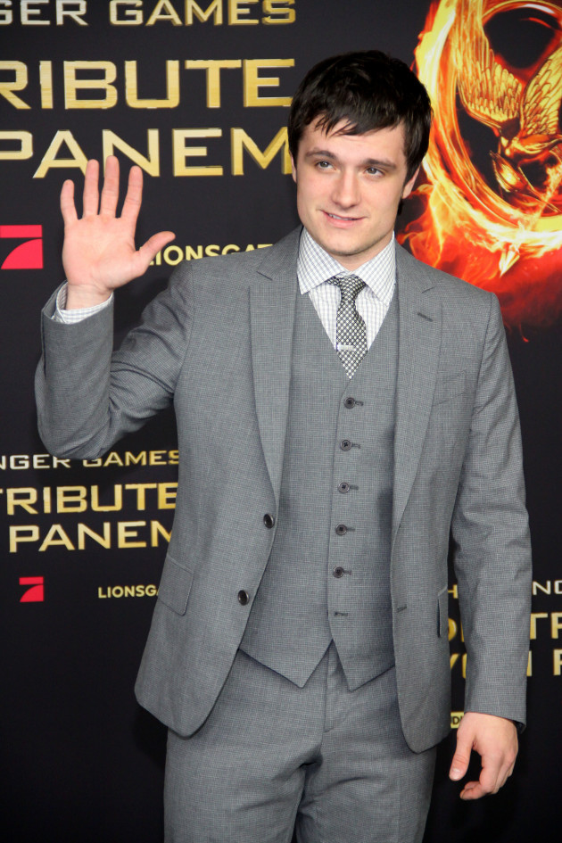Josh Hutcherson in Berlin