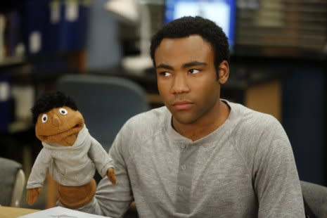 Donald Glover on Community
