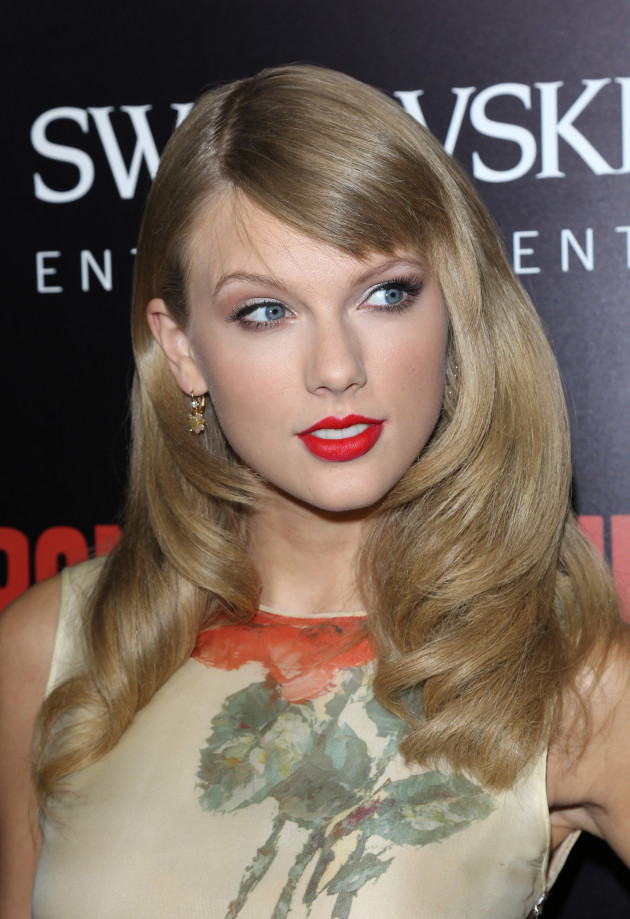 Taylor Swift at Film Premiere