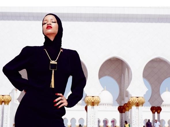 Rihanna, Mosque