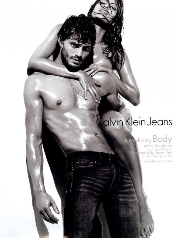 Jamie Dornan and Eva Mendes
