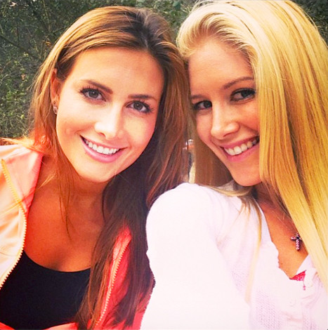 Heidi Montag and Jen Bunney Photo